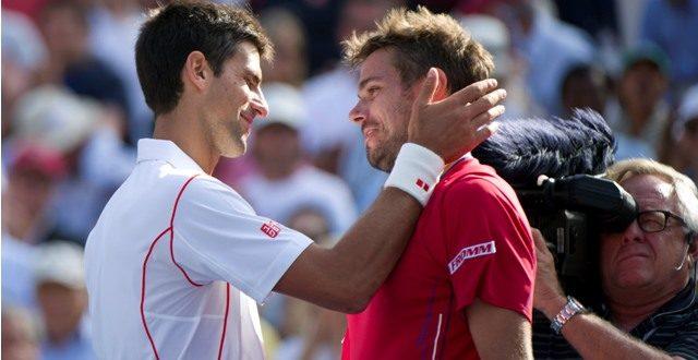 Novak Djokovic kiesett
