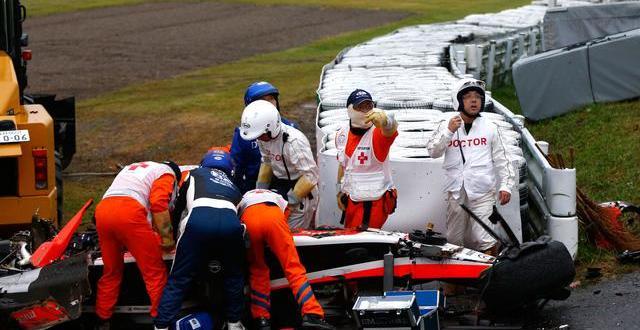 Jules Bianchi súlyos balesetet szenvedett